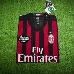 เสื้อบอลเวอร์ชั่นนักเตะเอซี มิลาน เหย้า AC Milan Home Adizero 2016/2017