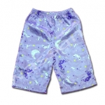 กางเกง สีม่วง ลายพระจันทร์กับดาว ยี่ห้อ Carter's 2T