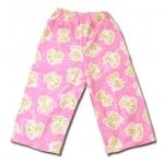 กางเกง สีชมพู ลายลิงกับกล้วย 2T