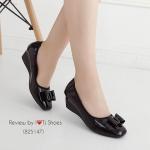 รองเท้าคัทชู สีดำ สวยหรูดูดี หนังแก้วนิ่มใส่แล้วดูขับผิวเท้า ประดับโบว์ น่ารักๆ ขอบยางยืดใส่แล้วยืดหยุ่นตามเท้า มาพร้อมพื้นบุนวมนิ้มนิ่ม ทรง สวย สวมใสง่าย สามารถใส่ได้เรื่อยๆ ดูสุภาพ ดูเก๋สุดๆ สูง 2 นิ้ว