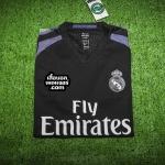 เสื้อบอลเวอร์ชั่นนักเตะ Adizero รีล มาดริด 3rd Real Madrid 3rd 2016/2017
