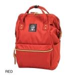 กระเป๋าเป้ Anello Canvas Dark Orange (Standard) ผ้าโพลีเอสเตอร์แคนวาส กันน้ำ