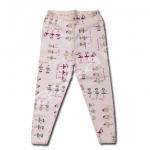 กางเกง สีชมพู ลายเต้นระบำ 2T