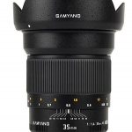 Samyang 35mm F1.4 AS UMC For Sony E / Sony A