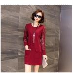 &#x2661 ไซส์ใหญ่ - เดรสเกาหลีสาวอวบ / Plus Size Lady Dress