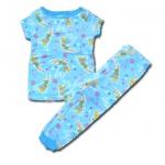 ชุดนอน สีฟ้า ลาย Fairies กับผีเสื้อ 4T
