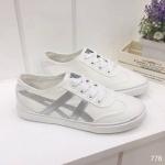 รองเท้าผ้าใบแฟชั่น สไตล์ย้อนยุค HOT Limited Edition แฟชั่นญี่ปุ่น วัสดุทำจาก Polyeste rอย่างดี รูปทรงเพรียวกระชับ มีความ Classic แบบลงตัวสุดๆ แพทเทริน เป๊ะ สูงหน้า 2ซม. ส้นสูง 2 ซม. สีทอง เงิน ดำ น้ำเงิน