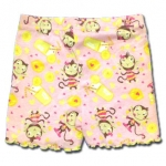กางเกง สีชมพู ลายลิงกับน้ำมะนาว ยี่ห้อ Place 4T