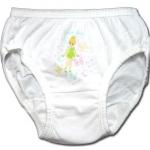 กางเกงในเด็กหญิง สีขาว ลาย Tinker Bell กับผีเสื้อ 2T
