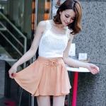 **พรีออเดอร์** กระโปรงแฟชั่นเกาหลี ไซส์ใหญ่ แบรนด์ Orange Bear สีหวาน เก๋ น่ารัก / **Preorder** Large Size Women Korean Hitz Orange Bear Brand Sweet Color Skirt