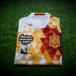 เสื้อบอลเวอร์ชั่นนักเตะ Adizero ทีมชาติสเปน เยือน Spain AwayPlayer Issue 2016