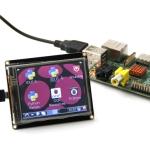 "RoboPeak 2.8"" Mini USB TFT Display Touchscreen"
