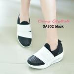 รองเท้าผ้าใบเพื่อสุขภาพ ไร้เชือก Korea style ออกแบบมาสำหรับผู้ที่ชื่นชอบ ความคล่องตัว สวมใส่ง่าย ตัวรองเท้าด้านหน้าแต่งลายหนังสาน เกร๋ๆ ทำความ สะอาดง่าย บุด้านในหนานุ่ม อยู่ทรง โอบกระเช้าเท้าดีเยี่ยม ด้านหลังยกสูงกัน ข้อเท้าผลิก สามารถใส่ออกกำลังกายได้ เก