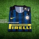 เสื้อบอลเวอร์ชั่นนักเตะ อินเตอร์ มิลาน เหย้า Player Issue Inter Milan Home 2016/2017