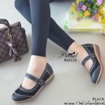 รองเท้าคัชชูสไตล์ญี่ปุ่น วัสดุหนังพียู ดีเทลข้างแต่งลายผ้าลูกไม้ เพิ่มความน่ารัก สายคาดแบบเมจิกเทป ใส่กระชับ เล่นด้ายแบบเดินด้ายสีตัด เสริมส้นแบบซิลิโคน สวมสบาย แมทง่ายใส่ได้ทุกโอกาส สูง 1.5 นิ้ว