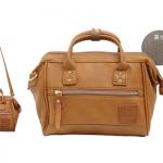 Mini twoway Anello leather Shoulder Bag (สี Camel)