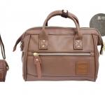 Mini twoway Anello leather Shoulder Bag (สี Brown)