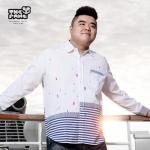 พรีออเดอร์ เสื้อเชิ้ตทำงาน ไซต์ XL - 5XL แฟชั่นเกาหลีสำหรับผู้ชายไซต์ใหญ่ แขนยาว เก๋ เท่ห์ - Preorder Large Size Men Size XL - 5XL Korean Hitz Long-sleeved Shirt