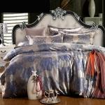 ชุดผ้าปูที่นอนผ้าซาตินหรือผ้าไหมจีน