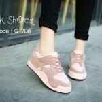 รองเท้าผ้าใบแฟชั่น งานนำเข้า Korea fashion สวยเก๋ แบบผูกเชือกด้านบน ด้านในกว้างใส่สบาย ส้นเสมอพื้นสูง 1 นิ้ว สวยเป๊ะมาก Korea fashion วัสดุ สักหลาดผสมหนัง PU สวยงามลงตัว ตกแต่งสีเรียบ เน้นแมทส์เสื้อผ้าง่าย ใส่ ได้หลายแนว พื้นนุ่มเวลาเหยียบ สามารถซักทำความ