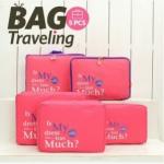 กระเป๋าจัดเก็บเสื้อผ้า จัดระเบียบกระเป๋าเดินทาง