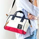 Mini Anello Boston shoulder Bag (สี France)