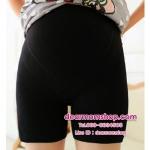 กางเกงเลกกิ้งกันโป๊สำหรับคนท้องเนื้อผ้ายืดหยุ่นดีมาก มีสีดำ กับ ชมพู