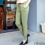 **พรีออเดอร์** กางเกงแฟชั่นไต้หวันไซส์ปกติและไซส์ใหญ่ Orange Bear ขายาวเอวยืด เก๋ ใส่สบาย / **Preorder** Regular size and Plus size Women ฺHitz Taiwan version Brand Orange Bear Long Pants