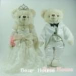 ตุ๊กตาหมีคู่รัก ขนาด 0.36 เมตร (แบบที่ 10)