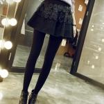 **พรีออเดอร์** กระโปรงแฟชั่นเกาหลี Brand Yozi Style ลายดอกไม้ ลูกไม้สวย น่ารัก / **Preorder** Women Korean Hitz Brand Yozi Style Lace Floral Pattern Skirt