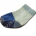 ถุงเท้า สีเทา-น้ำเงิน 9CM