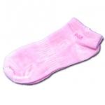 ถุงเท้า สีชมพู ลาย AIZ 17CM