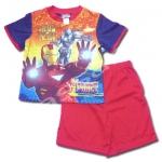 ชุดเด็ก สีแดง-ดำ ลาย Ironman2 6T