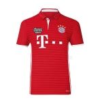 เสื้อบอลบาเยิร์น มิวนิค เหย้า Bayern Munich Home 2016/2017