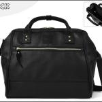 Large twoway Anello leather Shoulder Bag (สี Black)