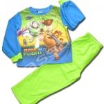 ชุดนอน สีฟ้า-เขียว ลาย Toy Story ขี่ม้า 4T