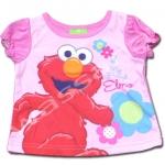 เสื้อ สีชมพู ลาย Sesame Street 18M
