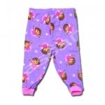 กางเกง สีม่วง ลาย Dora กับนก 2T