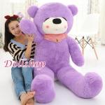 ตุ๊กตาหมีหลีบ purple 1.8 เมตร