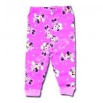 กางเกง สีชมพู ลาย Minnie กับดาว 2T