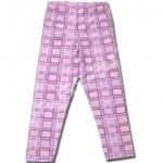 กางเกง สีม่วง ลายสก็อตต์ 4T