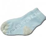 ถุงเท้า สีฟ้า-เทา 9CM