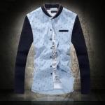 พรีออเดอร์ เสื้อเชิ้ตทำงาน ไซต์ M - 5XL แฟชั่นเกาหลีสำหรับผู้ชายไซต์ใหญ่ แขนยาว เก๋ เท่ห์ - Preorder Large Size Men Size M - 5XL Korean Hitz Long-sleeved Shirt