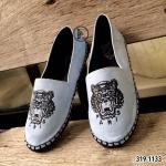 รองเท้าผ้าใบ Style Kenzo ทรง slip on สุดเก๋ วัสดุหนังกลับนิ่มมากๆ ปัก หน้าเสือด้านหน้า Style Kenzo ส้นยางกันลื่นหนา 1 ซม. แบบสวยไฮโซ ใส่แล้วโดดเด่น แมทเก๋ได้ทุกชุด สีดำ ชมพู ฟ้า ครีม (319-1133)