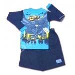 ชุดนอน สีฟ้า-ดำ ลาย Batman The Dark Knight 6T