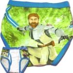 กางเกงในเด็กชาย สีเขียว-ฟ้า ลาย Star Wars 8T