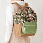 กระเป๋าเป้ Anello Canvas Limited Flower (Standard) ผ้าแคนวาส ลายดอกไม้