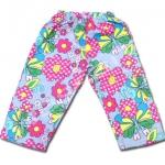 กางเกง สีเทา ลายผีเสื้อกับดอกไม้ ยี่ห้อ Place 4T