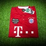 เสื้อบอลเวอร์ชั่นนักเตะ Adizero บาเยิร์น มิวนิค เหย้า Bayern Munich Home 2016/2017