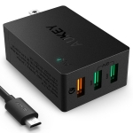 Aukey USB Wall Charger Quick Charge 3.0 (3 ports) Free Aukey USB Cable